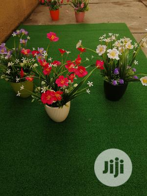 Mini Pot Artificial Flowers For Indoor Decorations | Garden for sale in Lagos State, Ikeja