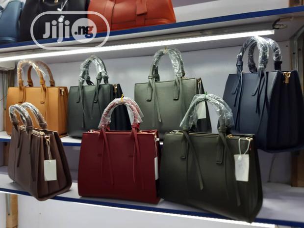 Classic Female Genuine Leather Handbag