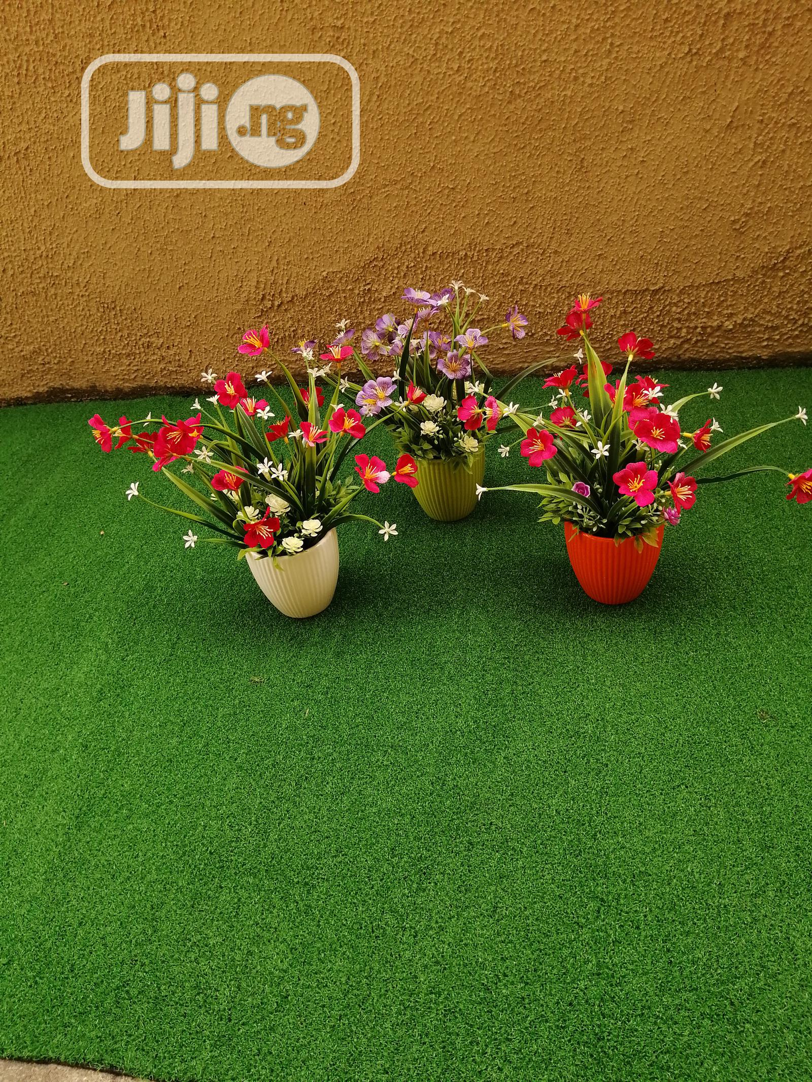 Artificial Mini Cup Flowers For Hospitals And Clinics Decorations