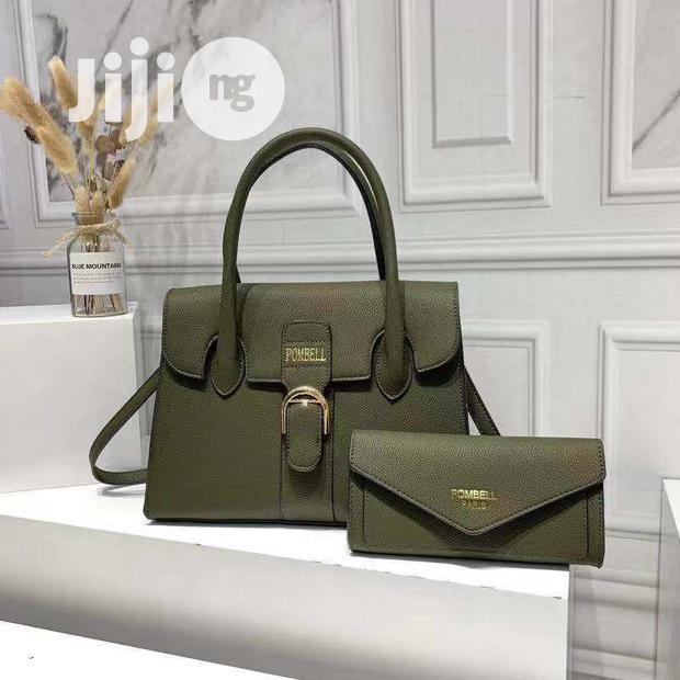 New Female Leather Handbag With Purse