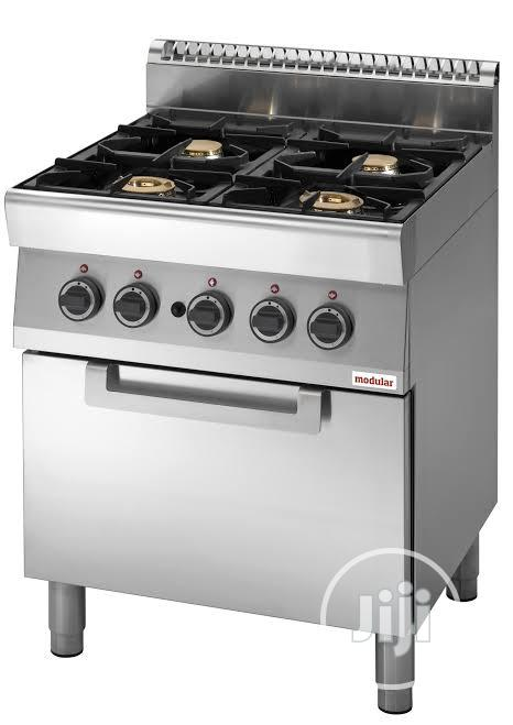 4 Burner Gas Cooker With Oven 70/70 CFG 700 Series