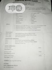 Restaurant Bar CV | Restaurant & Bar CVs for sale in Abuja (FCT) State, Lugbe District