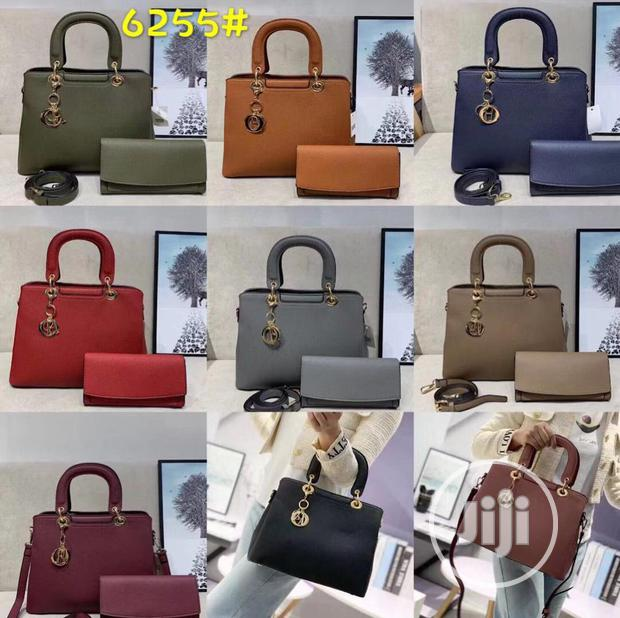 New Female Classic Leather Handbags