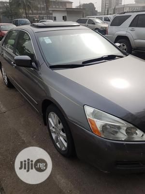 Honda Accord 2007 Sedan EX-L Automatic Gray | Cars for sale in Lagos State, Alimosho