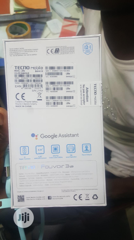 New Tecno Pouvoir 3 Plus 64 GB Black | Mobile Phones for sale in Ikeja, Lagos State, Nigeria