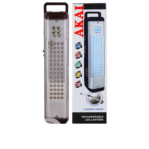 AKAI Rechargeable Led Torch Light/Lantern With USB Charger- Wine