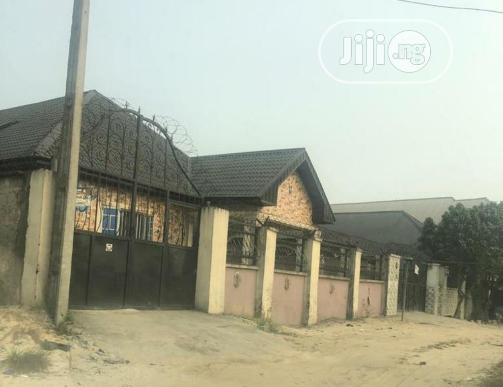 3,2 1 Bedroom Bungalow at Okuokoko for Sale in Warri | Houses & Apartments For Sale for sale in Okpe, Delta State, Nigeria