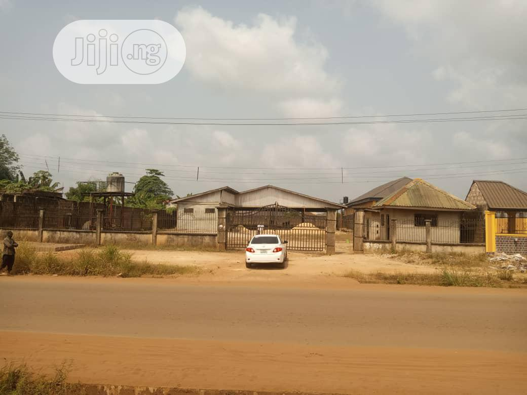An Existing Block Factory Together With It Equiment On A 100ft By 300f | Commercial Property For Rent for sale in Egor, Edo State, Nigeria