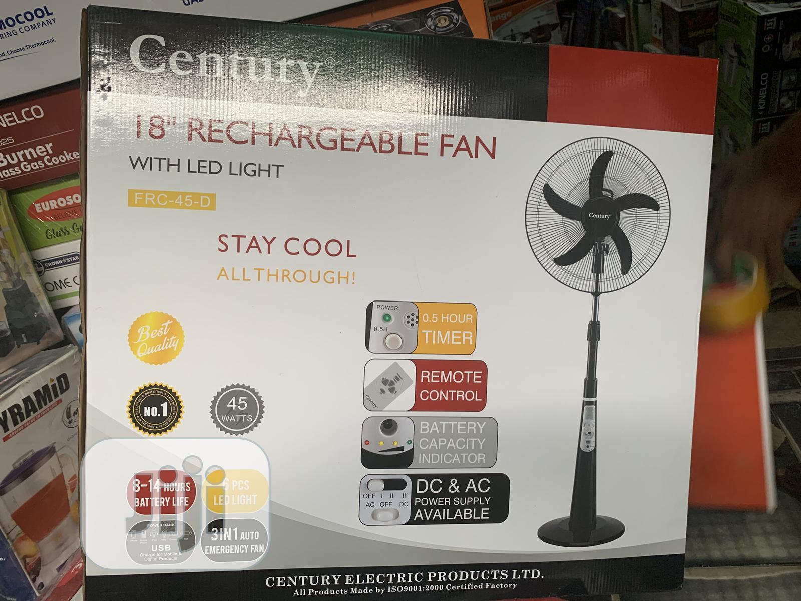 Archive: Rechargeable Fan.