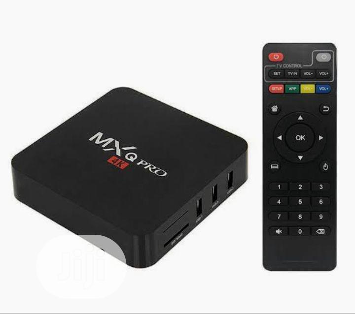 MXQ Pro 4K Android 7.1 TV Box 1GB/8GB | TV & DVD Equipment for sale in Ikeja, Lagos State, Nigeria