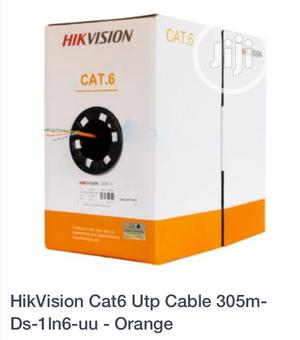 CAT.6 Hikvision Cable   Accessories & Supplies for Electronics for sale in Lagos State, Ikeja