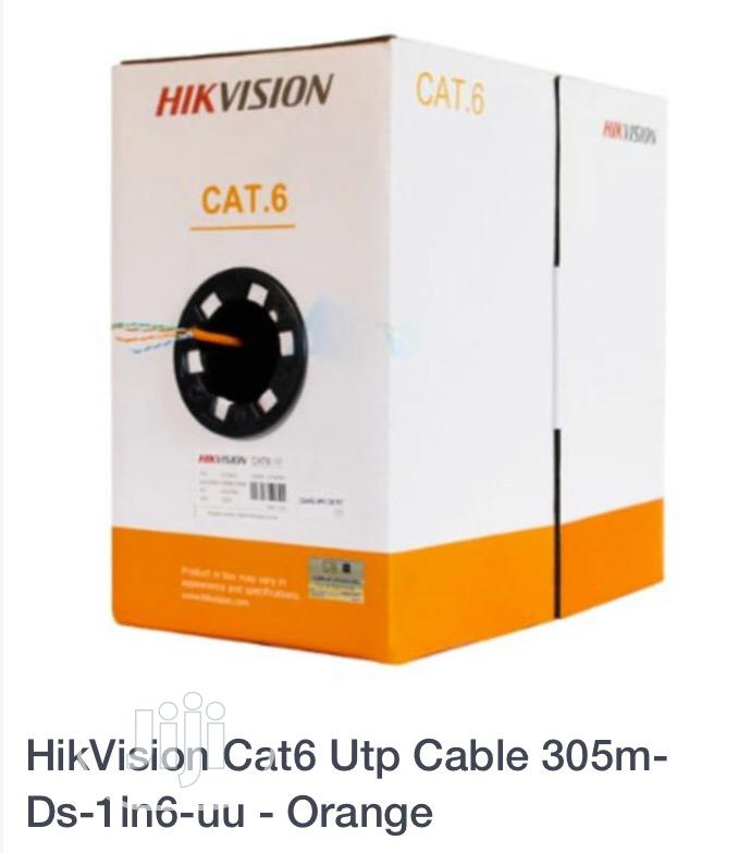 CAT.6 Hikvision Cable