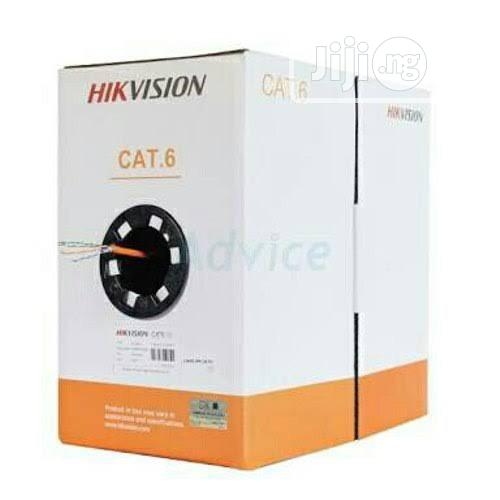 CAT.6 Hikvision Cable   Accessories & Supplies for Electronics for sale in Ikeja, Lagos State, Nigeria