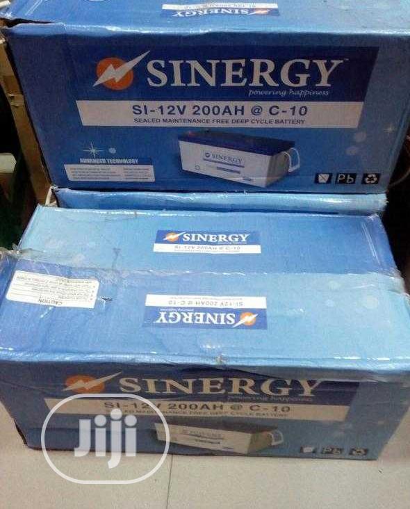 12v 200ah Synergy Battery