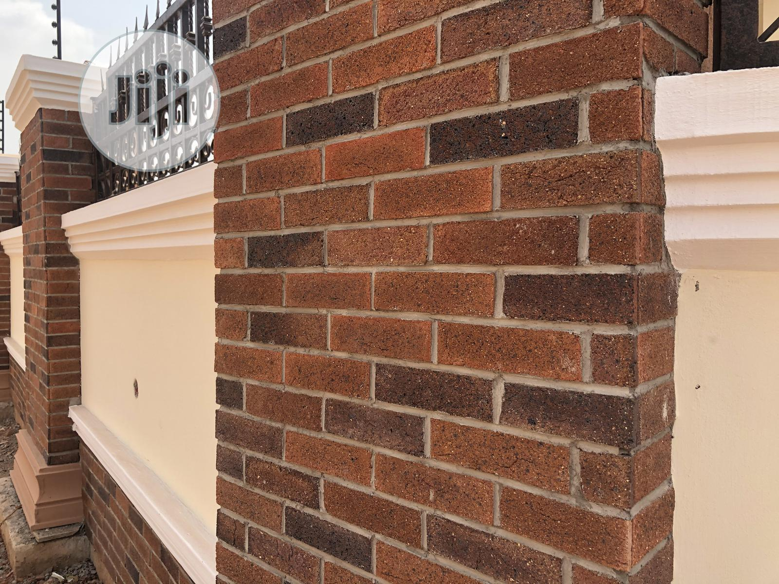 Burnt Thin Bricks and Stone Tiles for Wall | Building Materials for sale in Enugu / Enugu, Enugu State, Nigeria