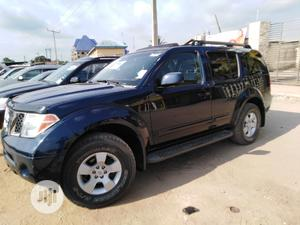 Nissan Pathfinder 2006 SE 4x4 Blue   Cars for sale in Lagos State, Ojo