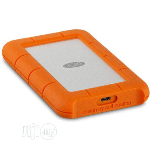 Lacie 4TB Rugged USB-C External Hard Drive | Computer Hardware for sale in Ikeja, Lagos State, Nigeria