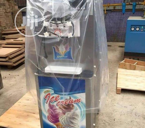 Archive: Ice Cream Machine Standing...