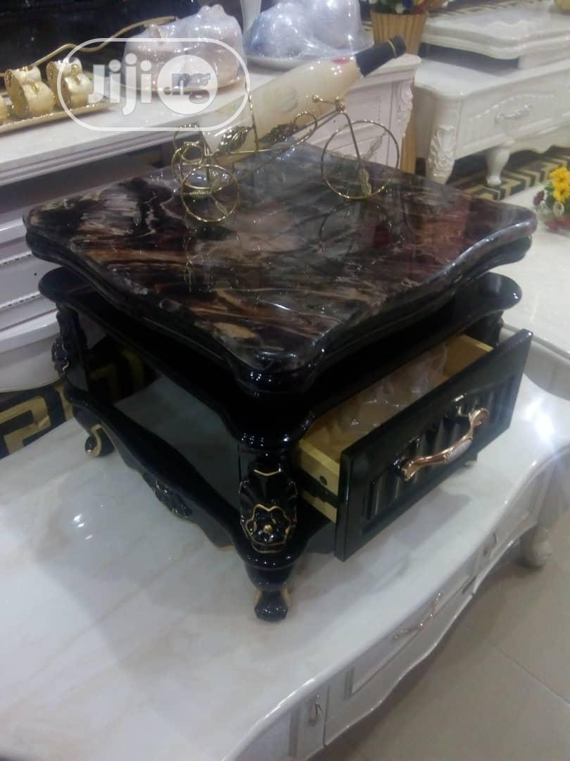 Unique Marble Center Table With Two Side Table