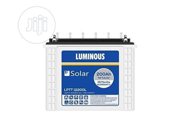 Luminous Inverter Tubular Battery 220ah