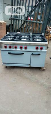 Range Cooker. Industrial Gas Cooker With Oven 6burners. High Quality | Restaurant & Catering Equipment for sale in Ogun State, Ijebu Ode