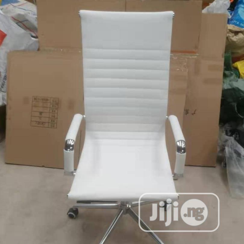 High Grade Executive Office Chair(White)