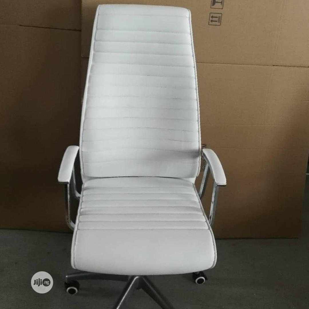 Executive Office Chair (White)