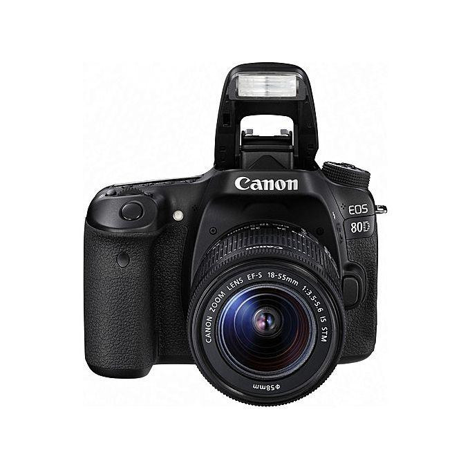 Canon EOS 80D DSLR Camera With 18-135mm Lens+Strap+Charger+Battery