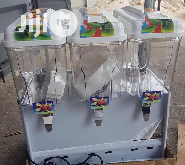 Archive: 3 Tank Juice Dispenser