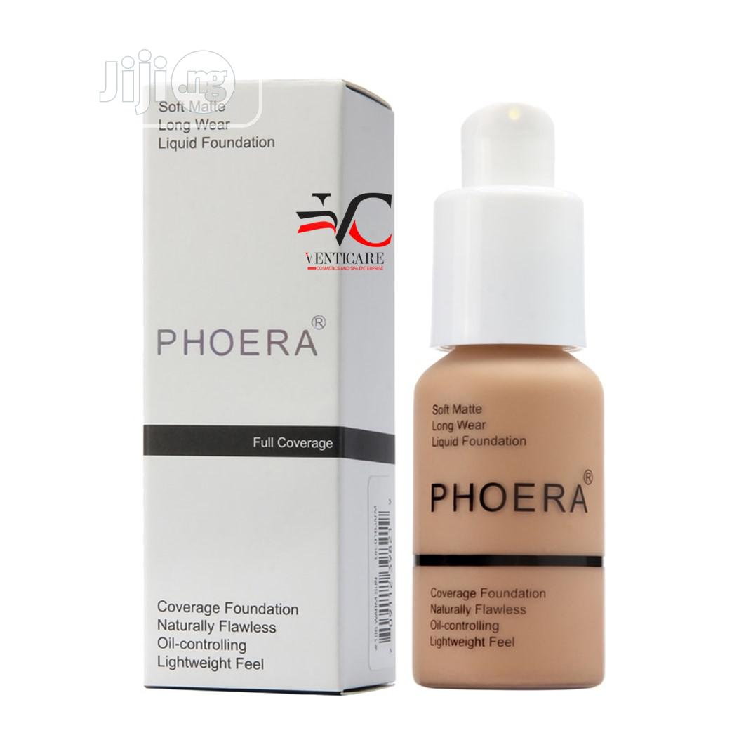 Phoera Flawless Liquid Matte Foundation Full Coverage Foundation 30ml In Ojo Makeup Venticare Cosmetics And Spa Jiji Ng