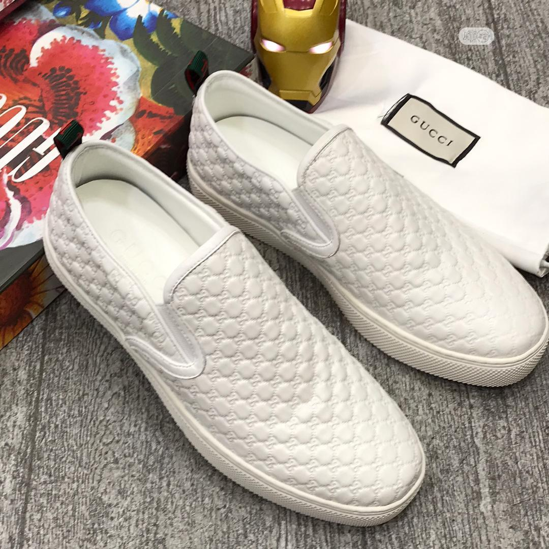 Gucci Canvas Sneaker