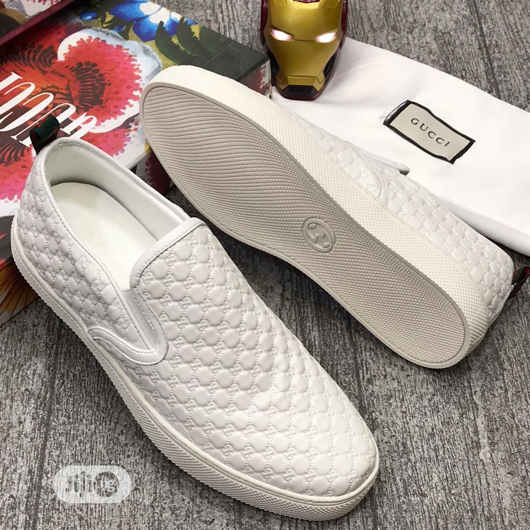 Gucci Canvas Sneaker   Shoes for sale in Lagos Island (Eko), Lagos State, Nigeria