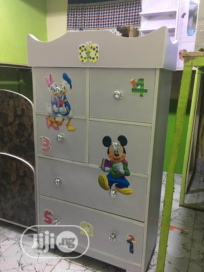Archive: Quality Wooden Wardrobe For Kids With Different Storages
