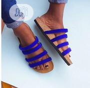 Ladies Free Foot - Blue | Shoes for sale in Lagos State, Isolo