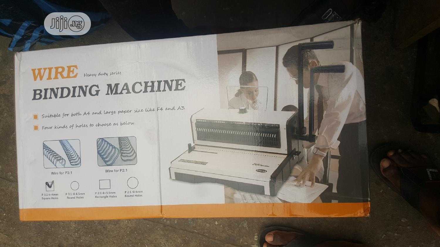 Wire Binding Machine | Stationery for sale in Ikeja, Lagos State, Nigeria