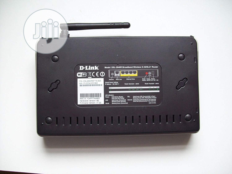 D-link DSL-2640R/UK Wireless G ADSL2+ Modem Router