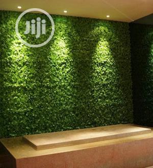 Beautiful Artificial Wall Designed Grass Carpet Plants.   Garden for sale in Lagos State, Ikorodu