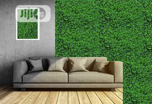 New & Original Artificial Wall Designed Grass Carpet & Plants.   Garden for sale in Lagos State, Ikorodu