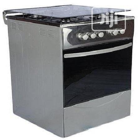 Maxi Silver Gas Cooker 50/50