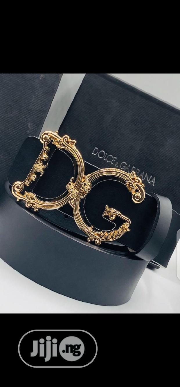 Dolce & Gabbana Leather Belt Original
