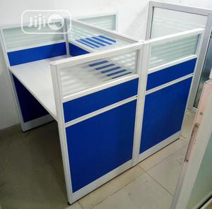 Portable 2 Man Office Workstation With Mobile Drawers | Furniture for sale in Lagos State, Ojo