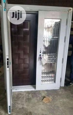 4ft By 7ft Stainless Glass Door In Door | Doors for sale in Lagos State, Orile