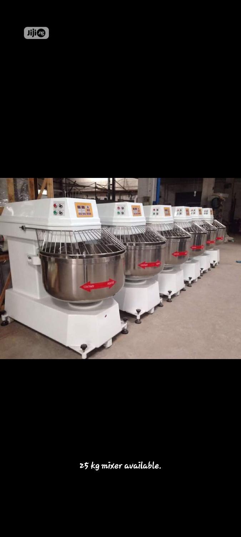 50kg Dough Mixer . Bakery One Bag Dough Spiral Mixer