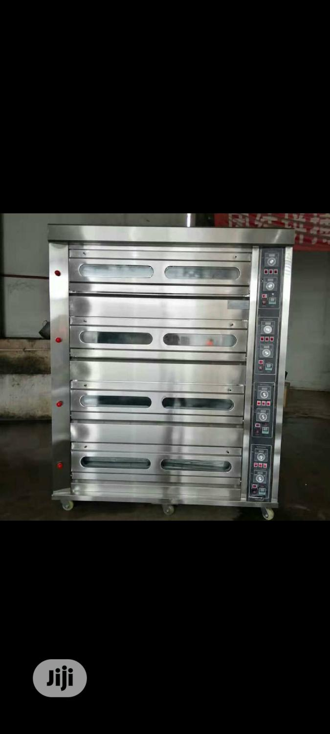 4deck Econimic Oven. Gas Deck Oven