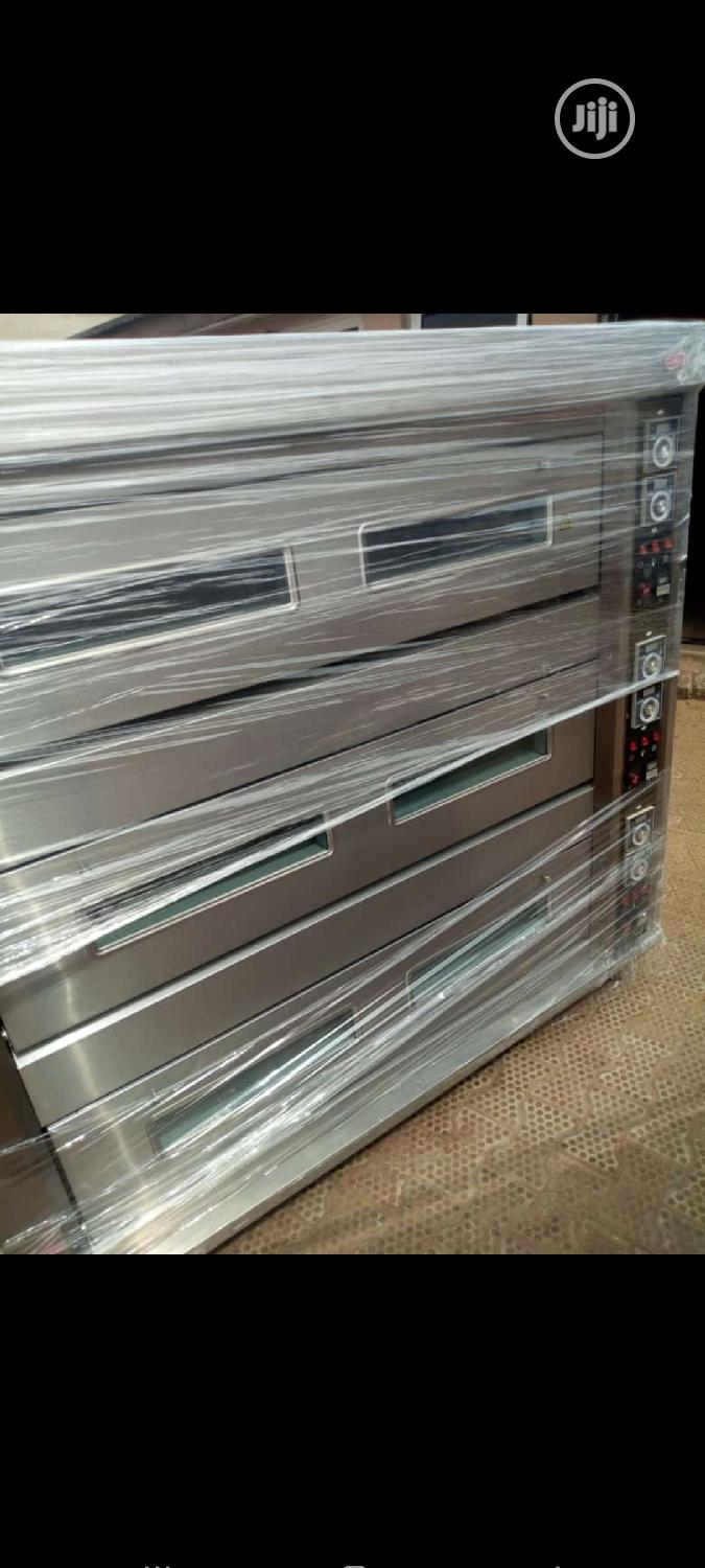 Bakery Oven. 9trays Gas Deck Oven