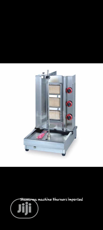 Shawarma Machine 3burners. Gas Shawarma