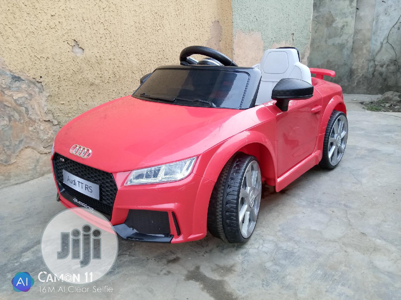 Uk Used 12 Volt Audi Tt Rs Car In Surulere Toys Tender Hug Baby Place Jiji Ng