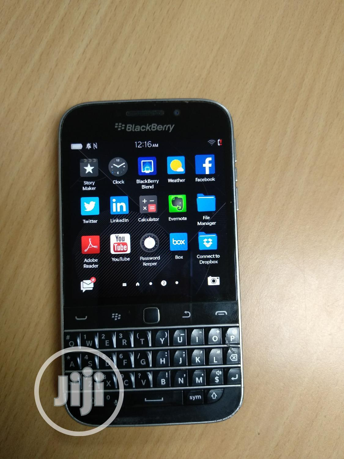 BlackBerry Classic 16 GB Black   Mobile Phones for sale in Oshimili South, Delta State, Nigeria