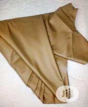 Brown Cotton Senator Fabric X2 - 1 FREE CUFFLINK | Clothing Accessories for sale in Lagos State, Ikoyi