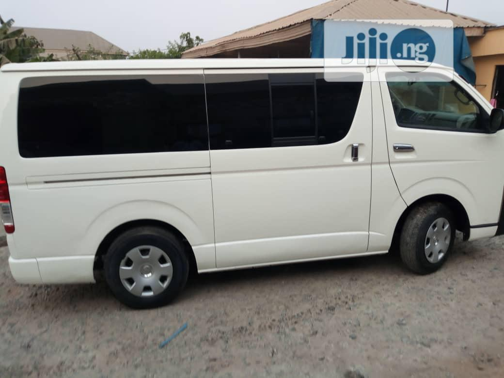 Tokunbo Toyota Hiace Bus 2008 | Buses & Microbuses for sale in Isolo, Lagos State, Nigeria